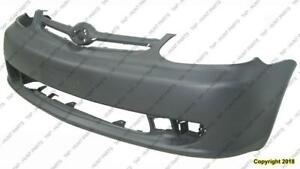 Bumper Front Matt-Dark Grey Without Spoiler Holedn-Coupe Toyota Echo 2003-2005