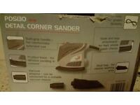 Performance power detail corner sander