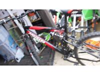 compass 55 north mountain bike swap for galvanised trailer