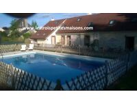 High Season £399 per week SW France La Grace 1 bed holiday Cottage/Gite with Pool