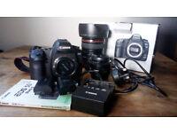 Canon EOS 5D Mark II 21.1MP Digital SLR Camera - Black (Kit w/ EF L IS USM 24-105mm Lens)