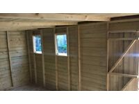 garden sheds made to order any size or spec free installation