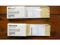 2x Ikea Bekväm Spice Rack