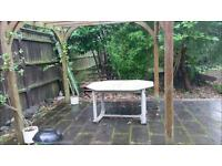 Solid garden table for sale - bargain price