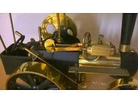 WILESCO TRAKTOR,working steam powered model. £195.00 ono