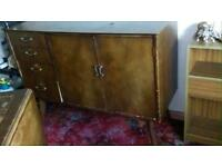 Free delivery wooden cabinet retro