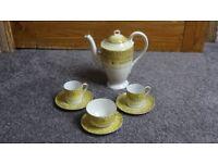 lovely yellow tea/coffee set