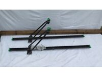 3 Bike carriers for fitting to car roof bars