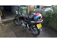 125cc derestricted road bike for sale
