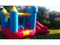 FOR SALE - Childrens Happy Hop bouncy castle & slide
