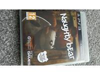 PS3 Naughty Bear Game