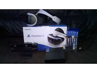 Playstation VR bundle + 6 games + camera