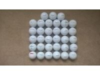 33 TITLEIST VELOCITY GOLF BALLS --- EXCELLENT CONDITION