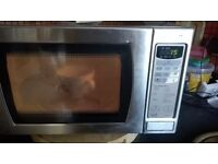800W silver panasonic microwave oven