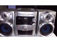 panasonic music system 174w powerful sound