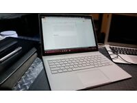 Microsoft Surface Book, 13.5 inch, Core i7, 16GB RAM, 512GB SSD, Very Good Condition, UK Keyboard