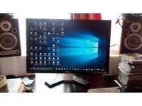 "Dell E207WFP LCD TFT 20.1"" PC Monitor 1680x1050 16:10 VGA DVI"