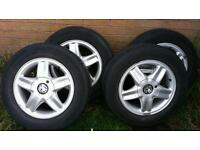 Vauxhall 4 bolt 16inch Alloys