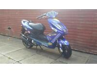 Yamaha aerox rossi rep 50cc needs seen