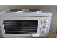 Mini oven/grill and hob