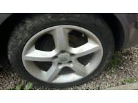 4 astra Sri alloys with good tyres