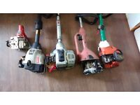 5 GRASS TRIMMERS SPARES/REPAIRS JOB LOT