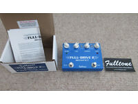 Fulltone Full-Drive 2 Mosfet – 2 Channel Overdrive – Full Drive Fulldrive - Boutique Pedal