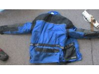Mens Weise Motorcycle Jacket Large Size Good Condition
