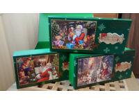 Falcon de lux - Christmas collection 1 - 3x 1000 puzzle