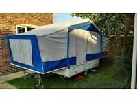 Trailer tent ideal for festivals