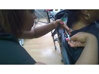 Women hair cutting and Blow drying courses
