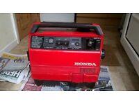 Honda ex650 petrol generator
