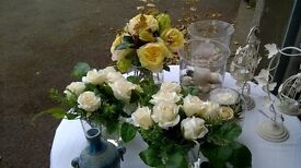 LIGHT A CANDLE/PUT OUT THE ROSES/DECORATE THE TABLE---OUR GUESTS ARE COMING!!!