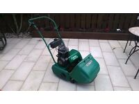 Atco Qualcast 14s petrol lawnmower.