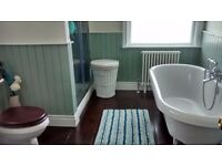 Two double bedroom Edwardian terrace house. Luxurious bathroom, modern kitchen, garden. Eaglescliffe