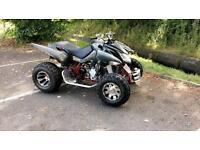 Apache RLX400 CF Supermoto Automatic Quad Bike