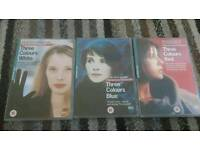 Three colours dvd set