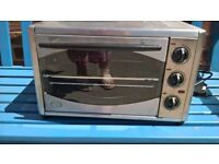 Table top grill oven