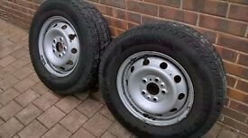 Fiat Motorhome Rim with Tyre