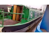 54ft 6in Cruiser Stern Narrowboat