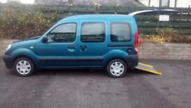 2009 Renault Kangoo Authentique - Wheelchair Accessible Vehicle