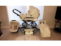 Baby unisex pram, car seat & accessories