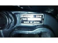 Mariner 25hp tiller outboard L S