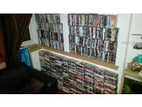 Collection of over 1000 dvd's