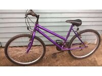 ladies mountain bike,