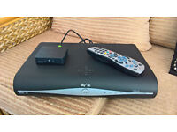 Sky + HD box and internet connector