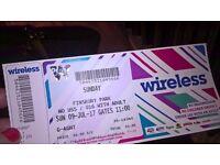 Wireless ticket sunday