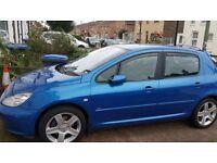 Peugeot 307 HDI 2.0 2004/5 Car Swap