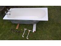 Vintage 1960's cast iron bath for sale