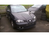 SEAT IBIZA 2007 1.2 12V BREAKING FOR SPARES